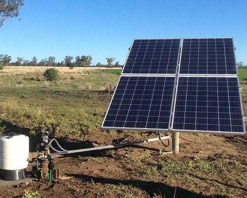 Andipatti Solar Water Pumping System Kerala
