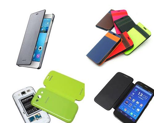 PU Leather Smartphone Flip Cover wholesaler Theni
