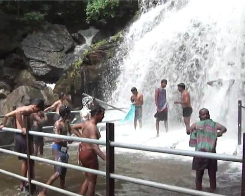 Madurai to Suruli falls sightseeing