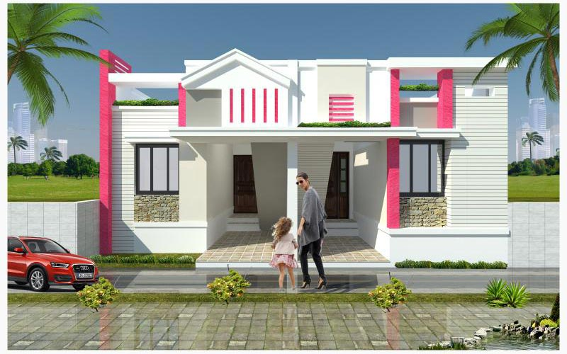 Individual house for sales ramanathapuram
