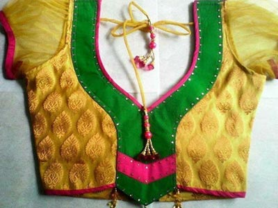 Pie Bridal Blouse Designs