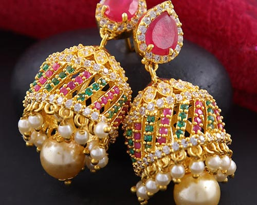 Covering Earrings buy Online Bodinayakanur