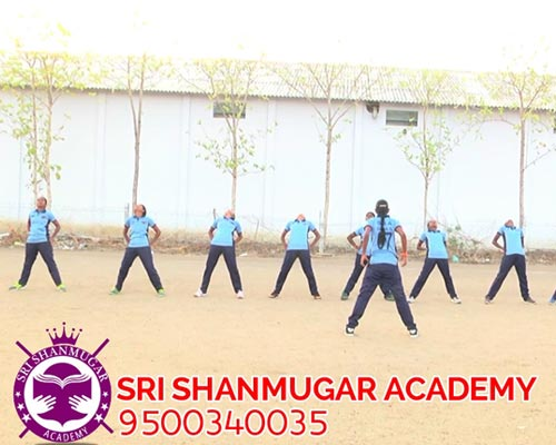 Police training classes Thirumangalam
