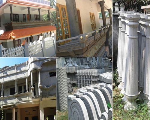 Residential cement works theni