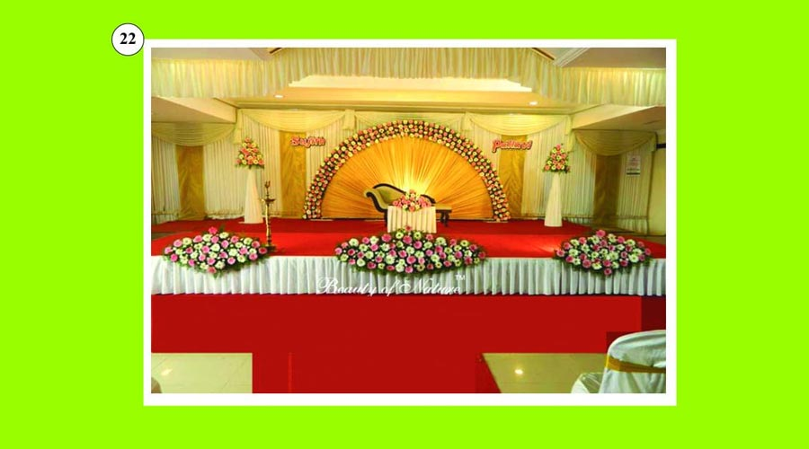 theni stage decoration service expert