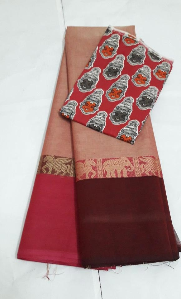 Handwoven Brocade sarees kumily