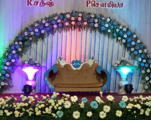 Affordable Stage Decoration Chinnamanur