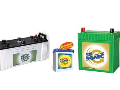 Sf sonic battery agency theni
