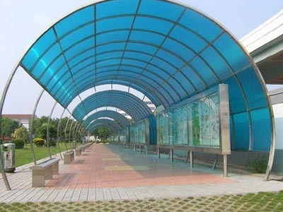 Steel Fiber Shade Fabrication