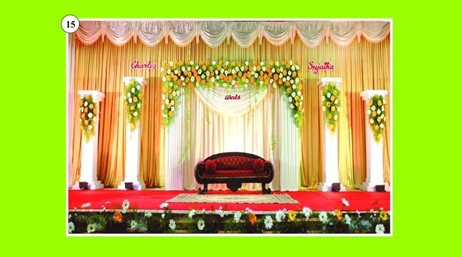 Stage decor bodinayakanur