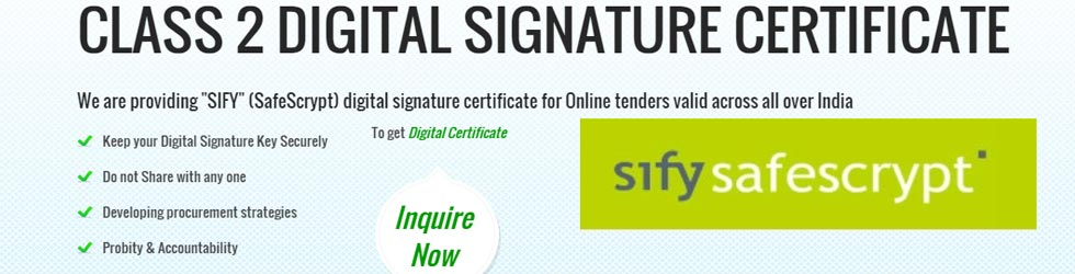 Digital Signature Certificate Consultancy