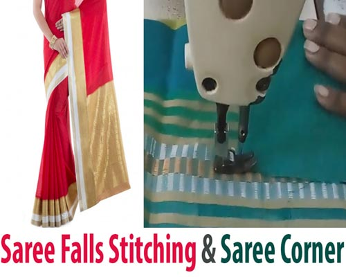 Saree Falls Stitching