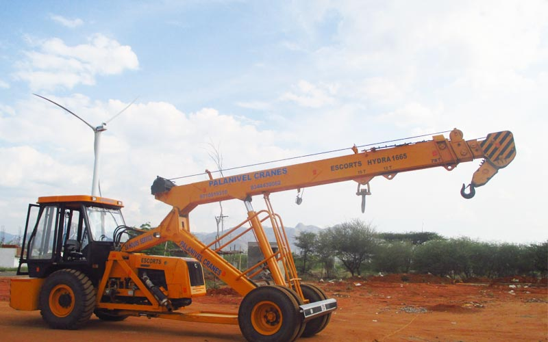Crane rent for windmill project