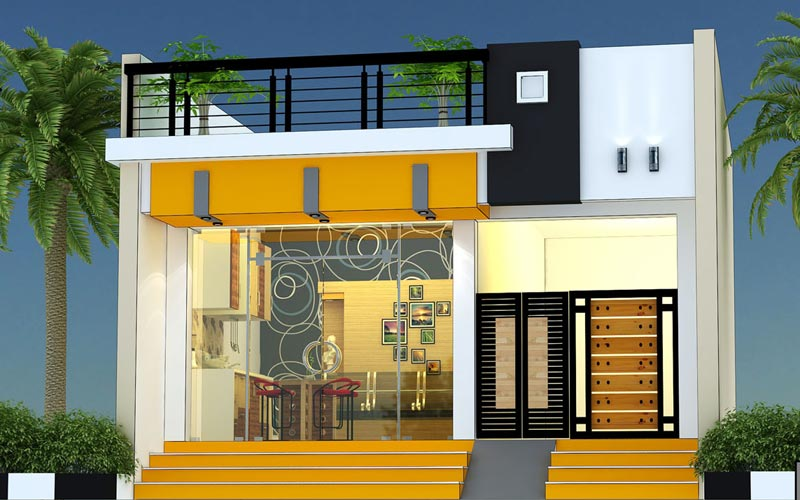 Commercials and Showrooms builders chinnamanur