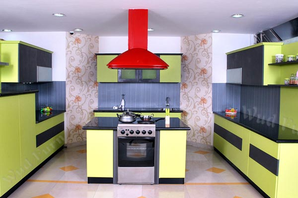 Custom Design Modular Kitchen design
