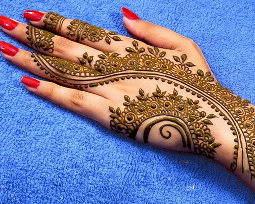 Latest Mehandi Artist theni Theni