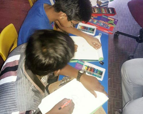 Gudalur Kids Drawing Courses