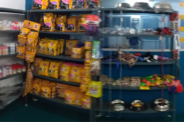 Pet food store theni