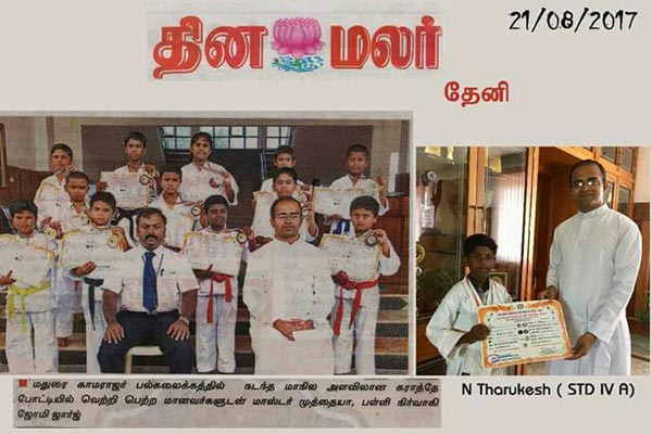 Cumbum Martial arts trainer