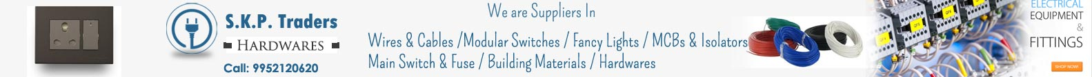 Chinnamanur-Electrical-Goods-Wholesale