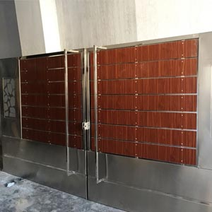 Kerala Stainless Steel Doors