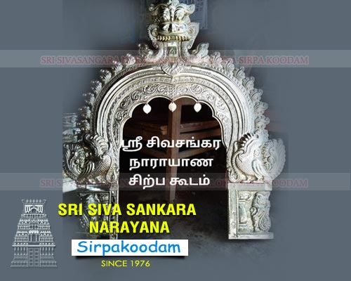 Theni Amman Silver Face Idol Making Business Tamil Nadu