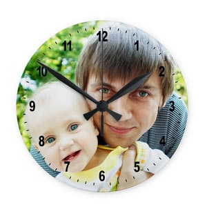 Print Your Photo With Wall Clock