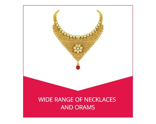 Gold Covering Necklace Buy Online Andipatti