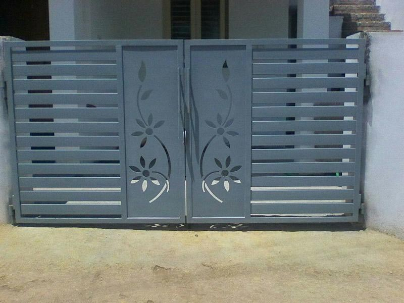 Custom Grill Laser Cutting Design Cumbum Grill Works