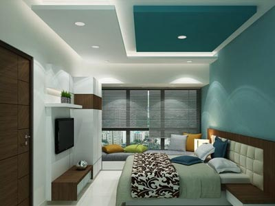 Bedroom False Ceiling designer