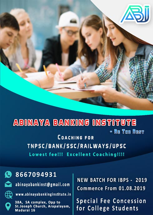ABINAYA BANKING INSTITUTE