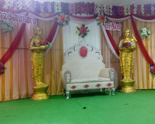 Vadavalli Reception Stage Decoration Near Sulur Coimbatore