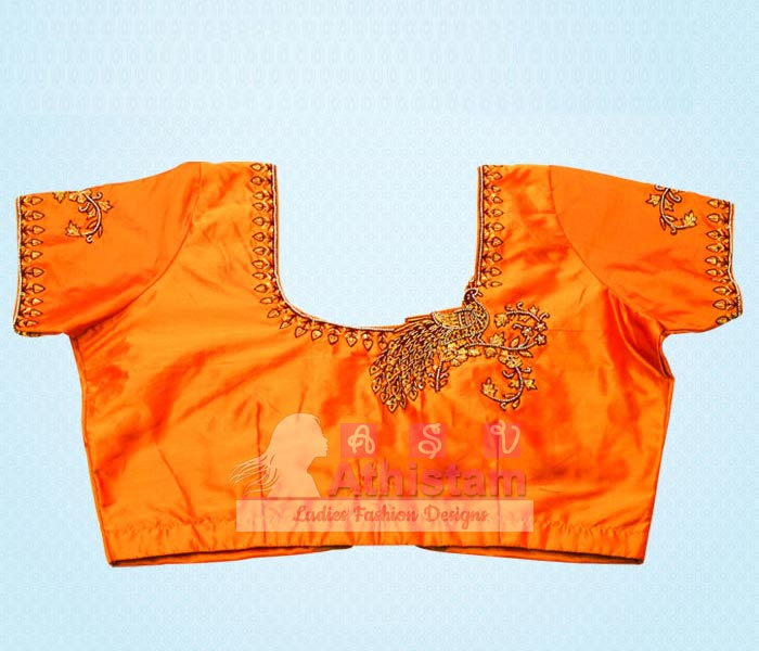 Stone work blouse tailor theni