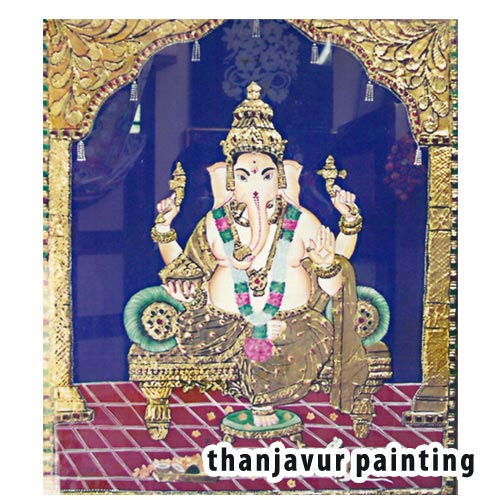 TANJORE CRAFT PAINTING class theni