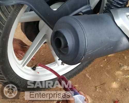 Theni car-tyre-sealant Bodinayakanur