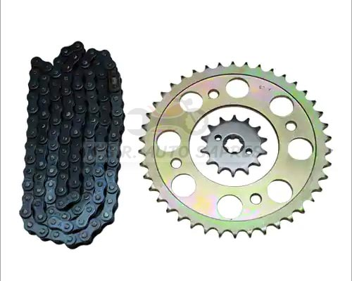 Multi Brand Two Wheeler Chain Sprocket Kit Andipatti Periyakulam