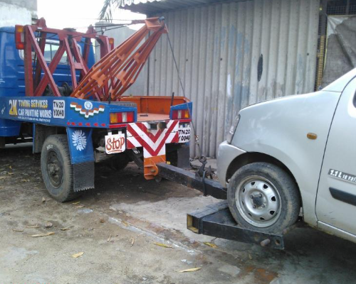 Kumily Highway Car Van Recovery Service Theni Cumbum