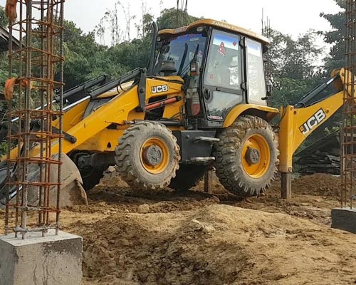 Periyakulam Jcb for home construction works theni