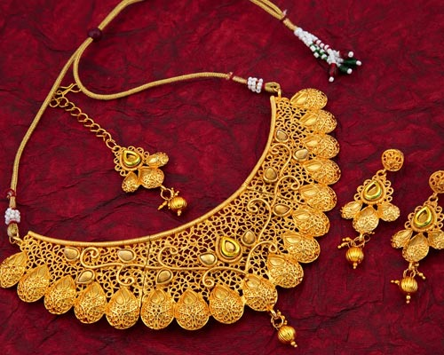 Covering Necklace Set Sales Periyakulam