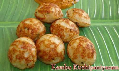 pearl millet foods