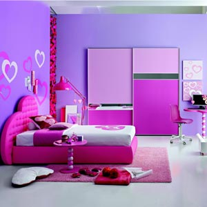 Purple Wall Colour Of Asian Paint