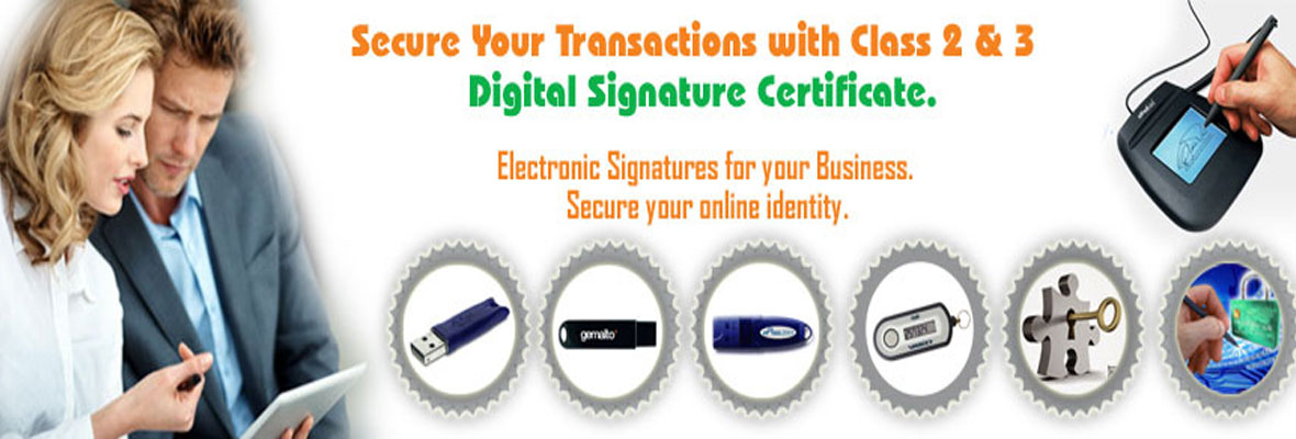 Digital Signature Service in theni