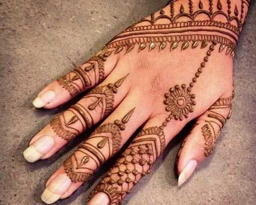 Bridal Mehndi Designs Artist cumbum