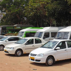 Bus Parking near Chinnamanur Cumbum Cumbum