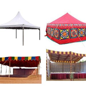 Shamiyana Tents rental contractor theni
