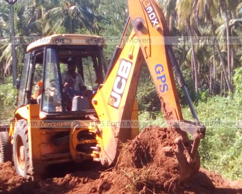 Jcb For Building Demolition Work Andipatti