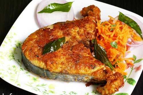Fish fry Recipe Hotel Theni