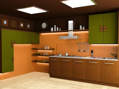 Moden kitchen for hotel designer Periyakulam