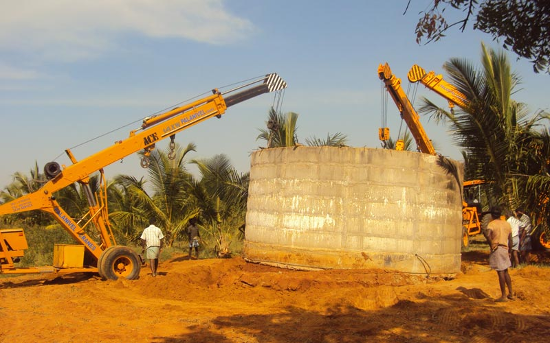 Crane Rental in theni