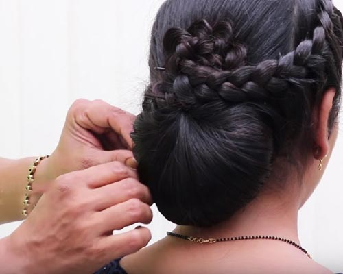 Kerala Modern Hair Style for ladies Kumily Theni